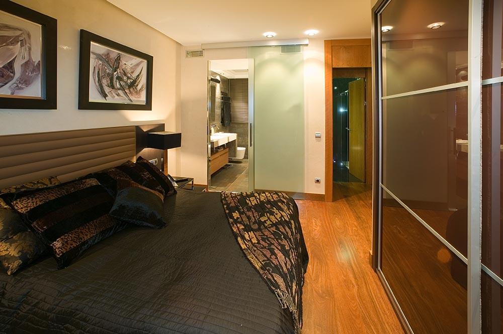 reforma elegante dormitorio
